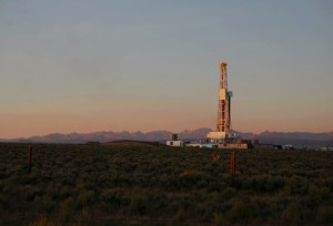 a natural gas well using hydraulic fracturing