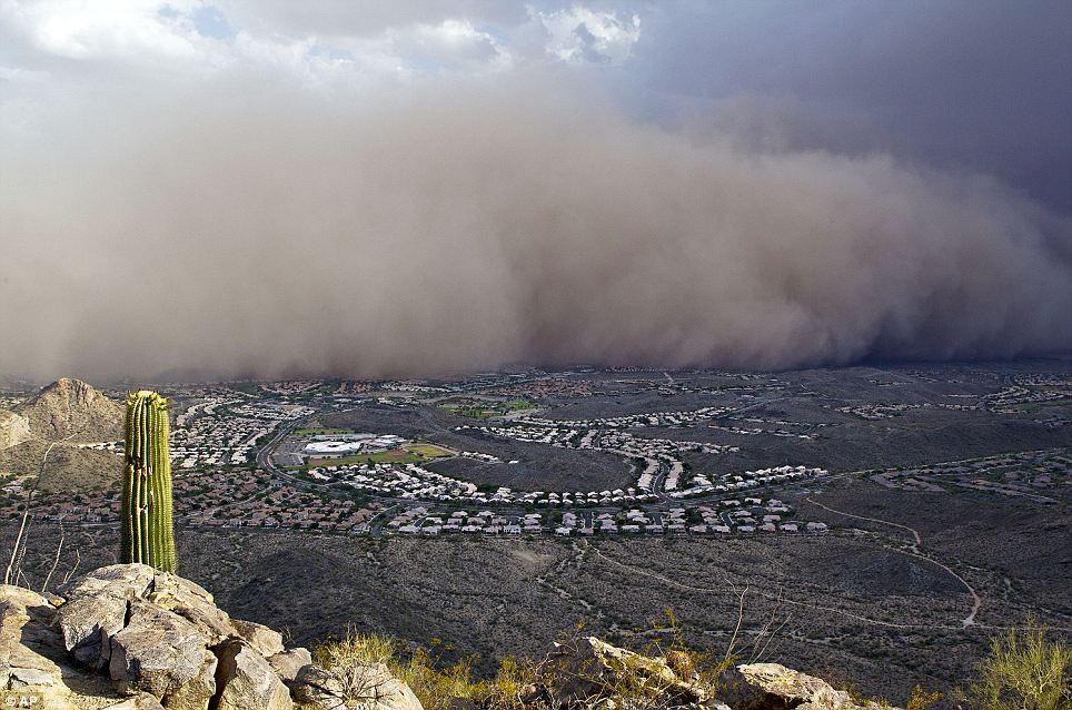The second haboob in a month rolls over Phoenix, Arizona on July 5. People are angry about it, but not for the reason you might expect.