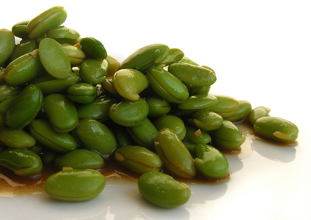 One of the worst things you could eat is a fresh soybean -- even sauteed, as there have been. But there are lots of soy products that are even worse. (Photo by FotoosVanRobin/Flickr)