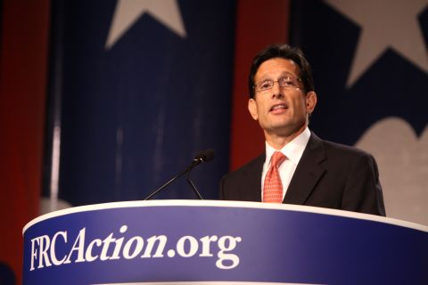 Congressman Eric Cantor (R-VA), heir to the speakership, forgot the rule: dance with the ones what brung ya.