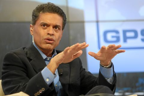 Fareed Zakaria holds forth on CNN. He's one of the better pundits, but as with them all, the reasoning tends to be more circular and the fables more disconnected from reality. (Wikipedia Photo)