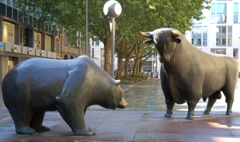 It's bulls v. bears on Wall Street, and the collateral damage is substantial.