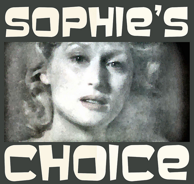 Sophie had to choose which child would live and which would die. Now multiply that problem by a couple orders of magnitude. (Photo by Bill Strain/Flickr)