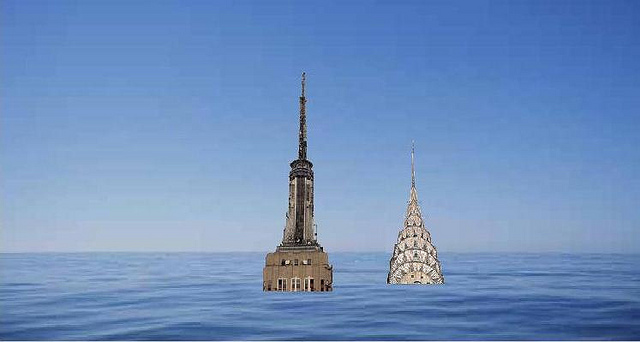Scientists are increasing their projections of how high sea level is going to rise, and how fast. (Photo by Mike Licht, NotionsCapital.com)